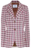 Prada Plaid blazer