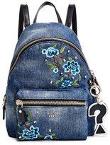 GUESS Leeza Denim Mini Backpack