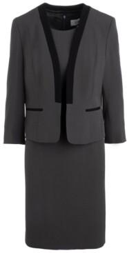 Le Suit Open-Front Dress Suit