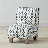 Petite Upholstered Chair (Tribal Vintage Indigo)