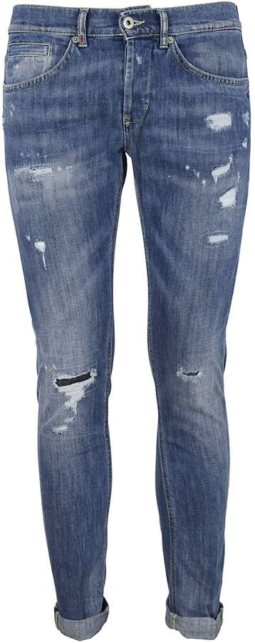Dondup Distressed Skinny Stretch Jeans