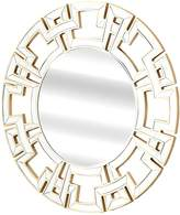 Abbyson Perry Round Wall Mirror