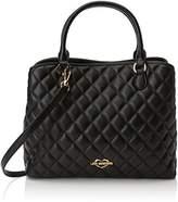 Love Moschino Borsa Quilted Nappa Pu Nero, Women's Shoulder Bag,11x27x32 cm (B x H T)