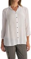 XCVI Clara Voile Shirt - Button Front, 3/4 Sleeve (For Women)