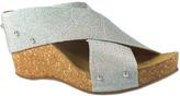 Bos. & Co. Silver Janney Stretch Sandal