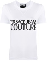 Versace logo printed T-shirt