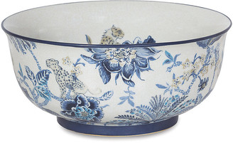 "Port 68 15"" Braganza Basin Bowl - Blue/White"