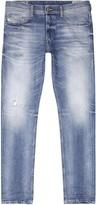 Diesel Tepphar 0853y Blue Slim-leg Jeans