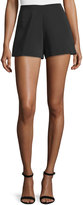 Alexis Carrie High-Rise Shorts, Black
