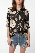 Ya-Ya Nom De Plume By Southwest Printed Blouse