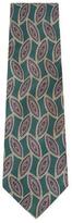 Chanel Vintage Green Silk Tie