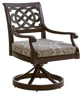 Tommy Bahama Sands Swivel Rocker Patio Chair with Cushion Outdoor