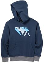 RVCA 4D Hooded Pullover Sweatshirt (Big Boys)