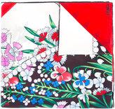 Fendi floral print scarf - women - Silk - One Size