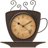 FirsTime Coffee Cup Wall Clock