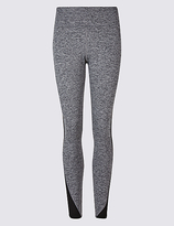 M&S Collection Quick Dry Colour Block Leggings