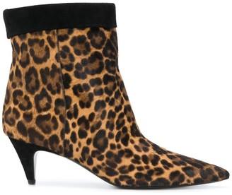 Saint Laurent Charlotte ankle boots