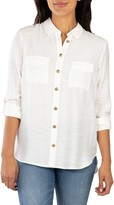 KUT from the Kloth Bree Button-Up Shirt