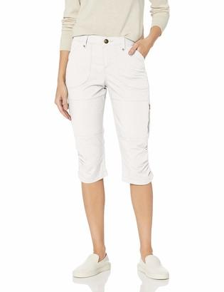 Lee Women's Flex-to-Go Relaxed Fit Zipper Pocket Capri Pant