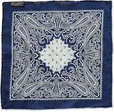 Ralph Lauren RRL Indigo Cotton Pocket Square