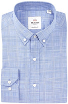 Ben Sherman Woven Plaid Slim Fit Dress Shirt