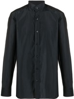 Tom Ford band-collar sateen shirt