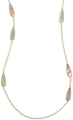Ippolita 18K Rock Candy Mother-of-Pearl Station Necklace