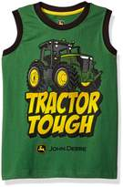 John Deere Big Boys' Tractor Tough Muscle Tee