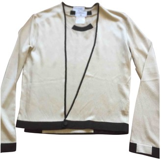 Chanel Gold Synthetic Knitwear