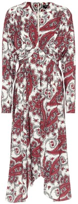 Isabel Marant Tamara paisley-printed dress