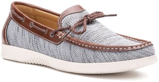 X-Ray Larry Knit Boat Shoe
