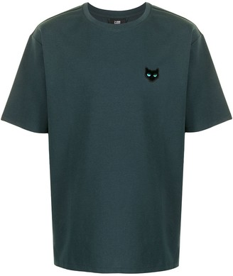 ZZERO BY SONGZIO Panther logo-patch T-shirt
