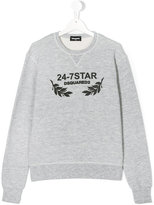 DSQUARED2 24-7 Star print sweatshirt