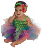 Rubie's Costume Co Green & Pink Rainbow Tutu Dress-Up Set - Infant