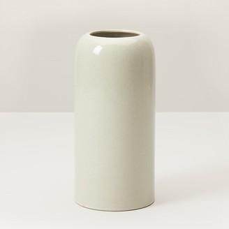 Indigo Domed Medium Vase Ivory