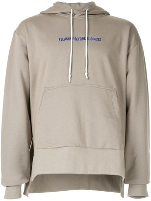 Off Duty 'Pleasure Before Business' hoodie