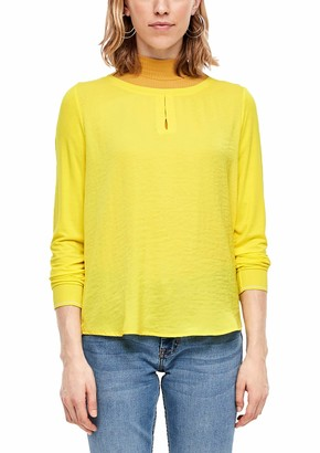 S'Oliver Women's 14.001.31.6029 Long Sleeve Top
