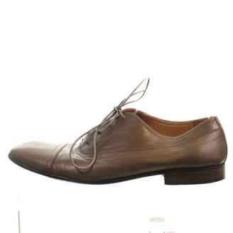 Maison Margiela Brown Leather Lace ups
