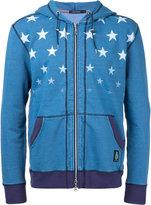 GUILD PRIME stars zip hoodie - men - Cotton/Polyurethane - 1