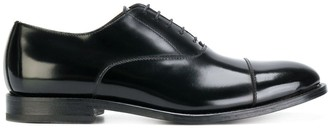 Dell'oglio shine effect lace-up Oxford shoes