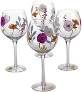 Certified International Rainbow Seeds Wine Glasses (Set of 4)
