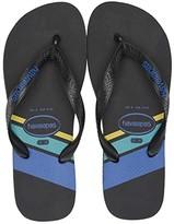 Havaianas Top Trend (Black/Black/Blue Star) Men's Sandals