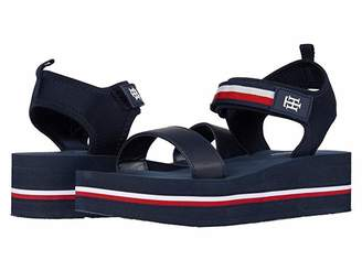 Tommy Hilfiger Avrett (Dark Blue Fabric) Women's Shoes