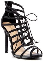Liliana Zia Lace-Up Heeled Sandal