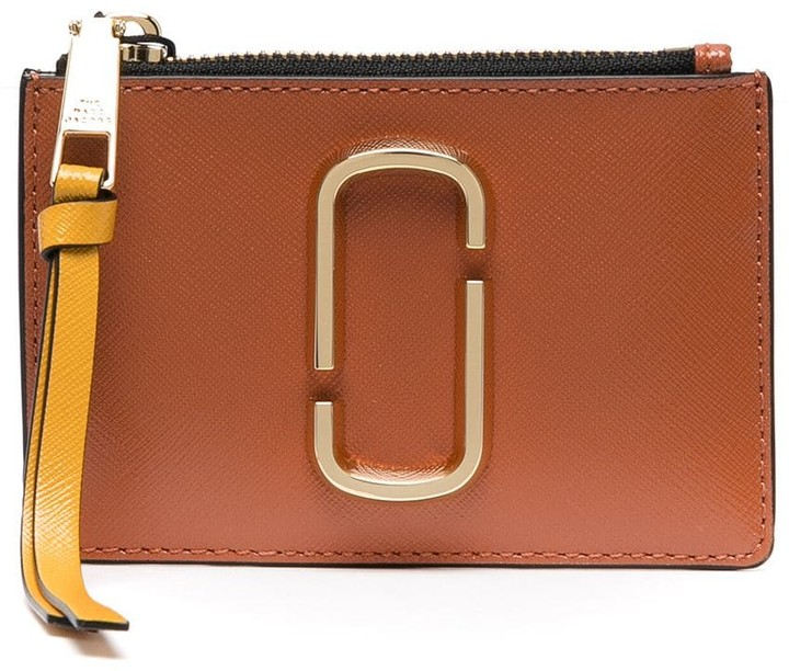 Marc Jacobs Snapshot leather wallet