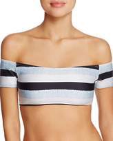 Vix Sea Glass Off-the-Shoulder Bikini Top