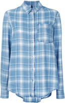 Nobody Denim Soft Check Shirt Float