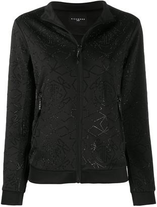 John Richmond Kunakey rhinestone-embellished jacket