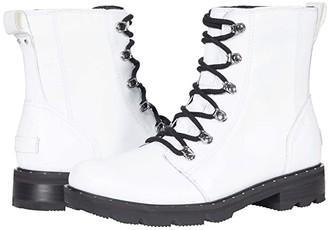Sorel Lennox Lace (White) Women's Boots