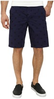 French Connection Isizwe Embroidered Twill Shorts